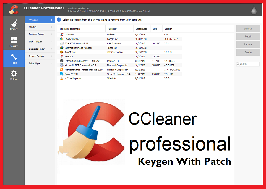CCleaner Pro Key Torrent 2021