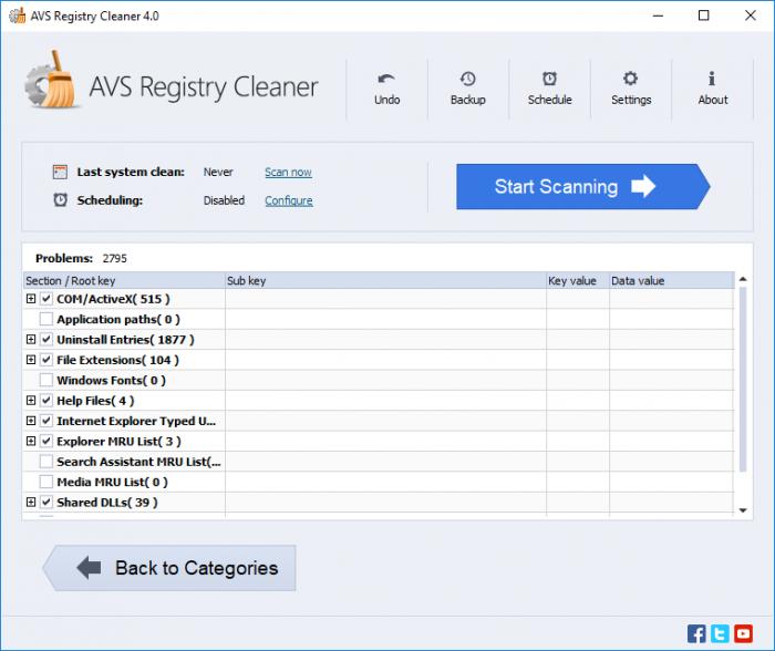 AVS Registry Cleaner Free License Key 2022
