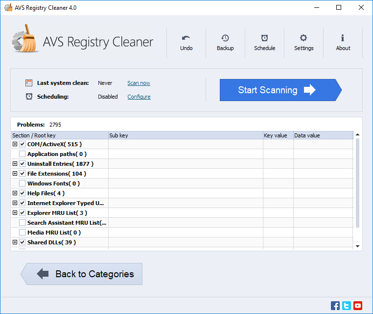 AVS Registry Cleaner License Key 2021