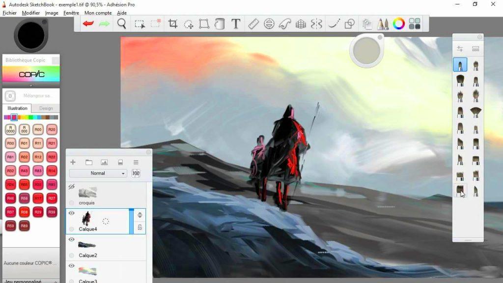 Autodesk SketchBook Pro 2020.1 V8.7.1.0 Plus Crack {Latest}