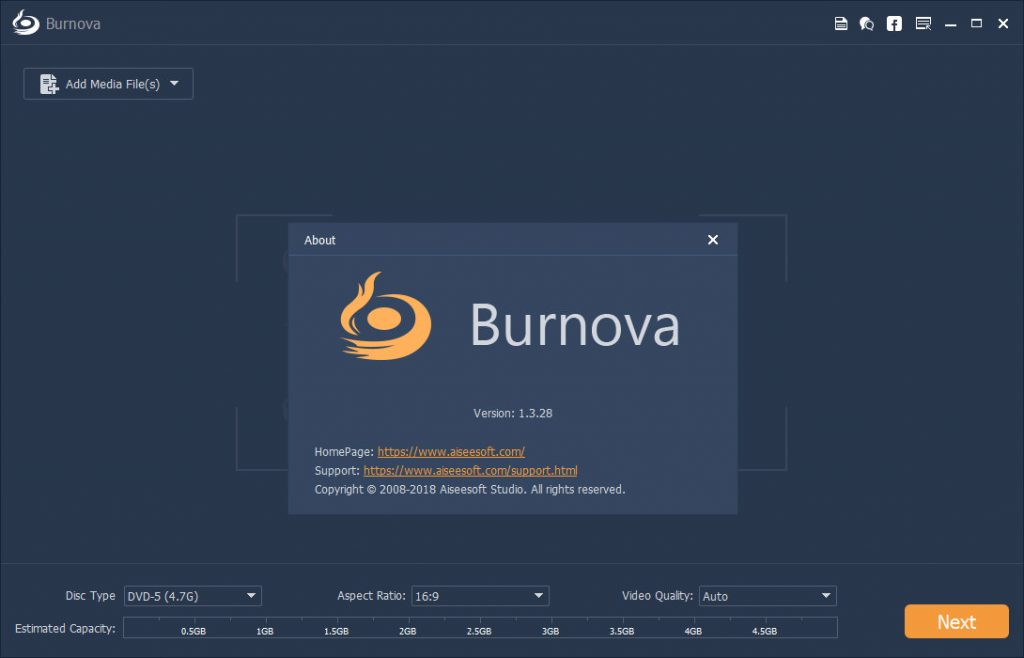 Aiseesoft Burnova 1.3.62 + Full Patch {Latest Version} 2020