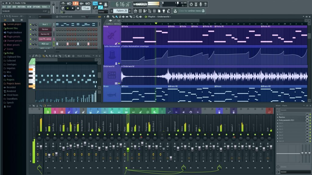 FL Studio 20.7.1.1773 Crack + Keygen Torrent 2021 [Latest]