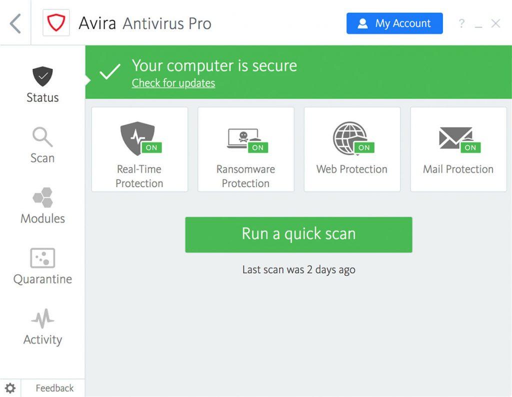 Avira Antivirus Pro 2021 Crack + Activation Code [Latest 2021]