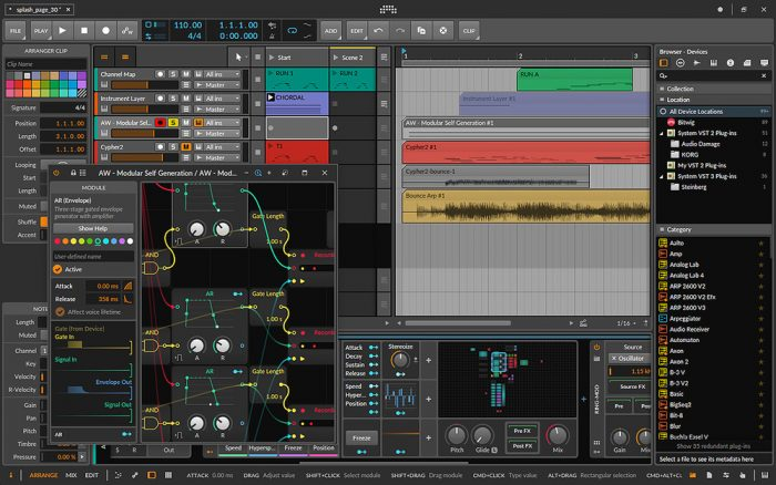 Bitwig Studio Serial Number With Torrent Download 2021 [Latest]