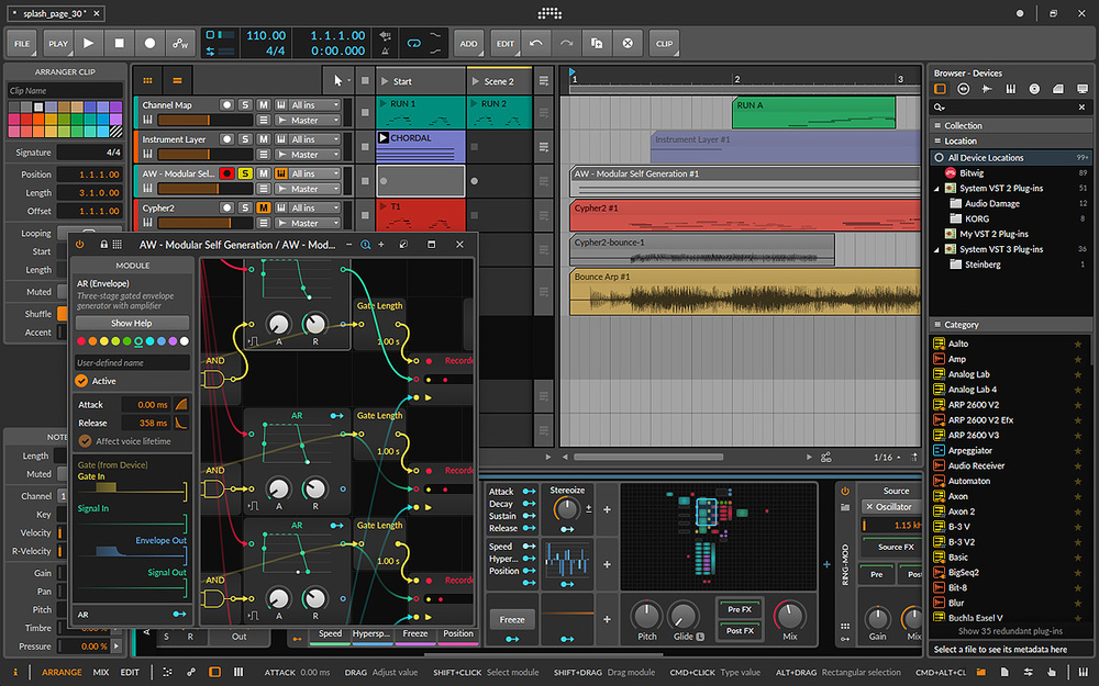 Bitwig Studio 3.2.6 With Crack License Key Torrent [Latest]