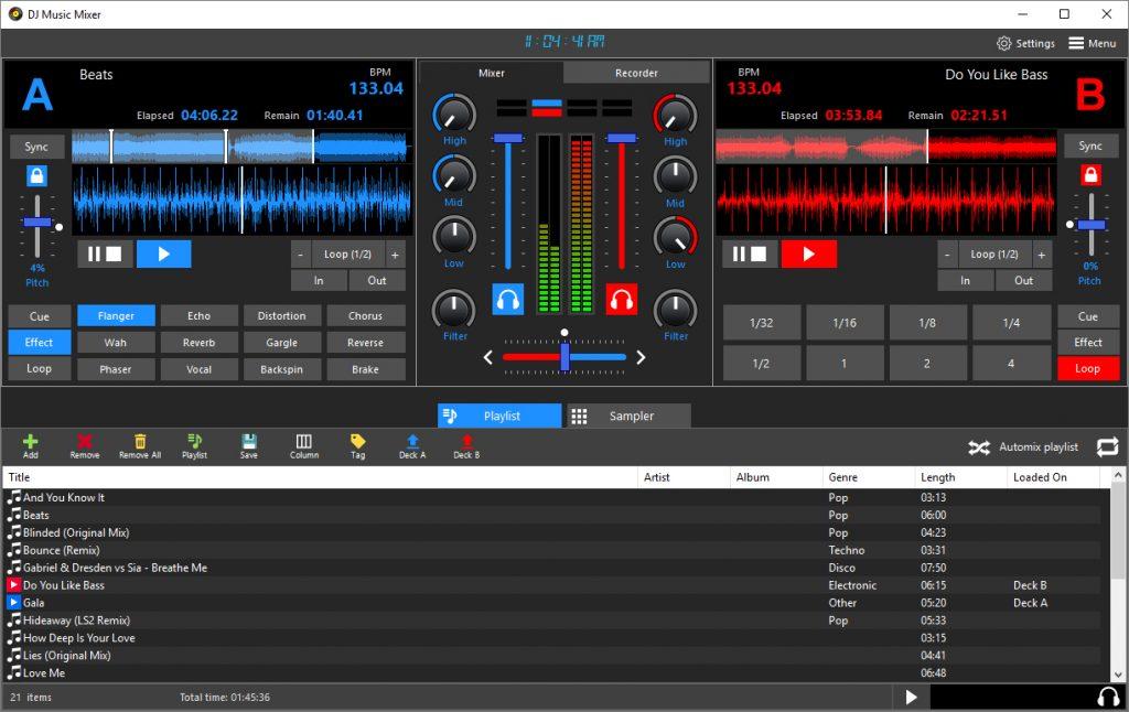 DJ Music Mixer 8.3 Crack + Activation Key Free Download 2021