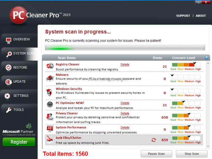 PC Cleaner Pro Key 2021