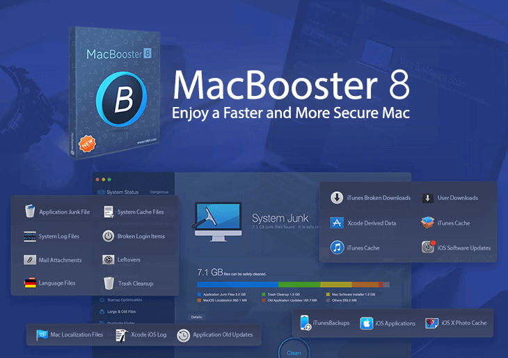 MacBooster 8.0.4 Crack + Free License Key 2021 [Latest]