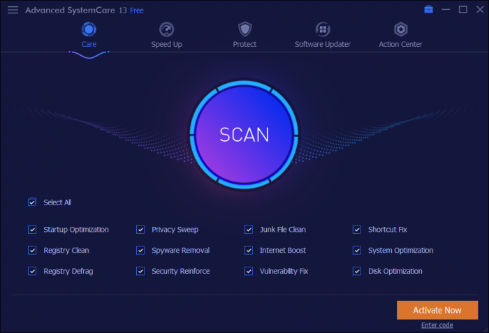 Advanced SystemCare Pro Crack Key Torrent 2021